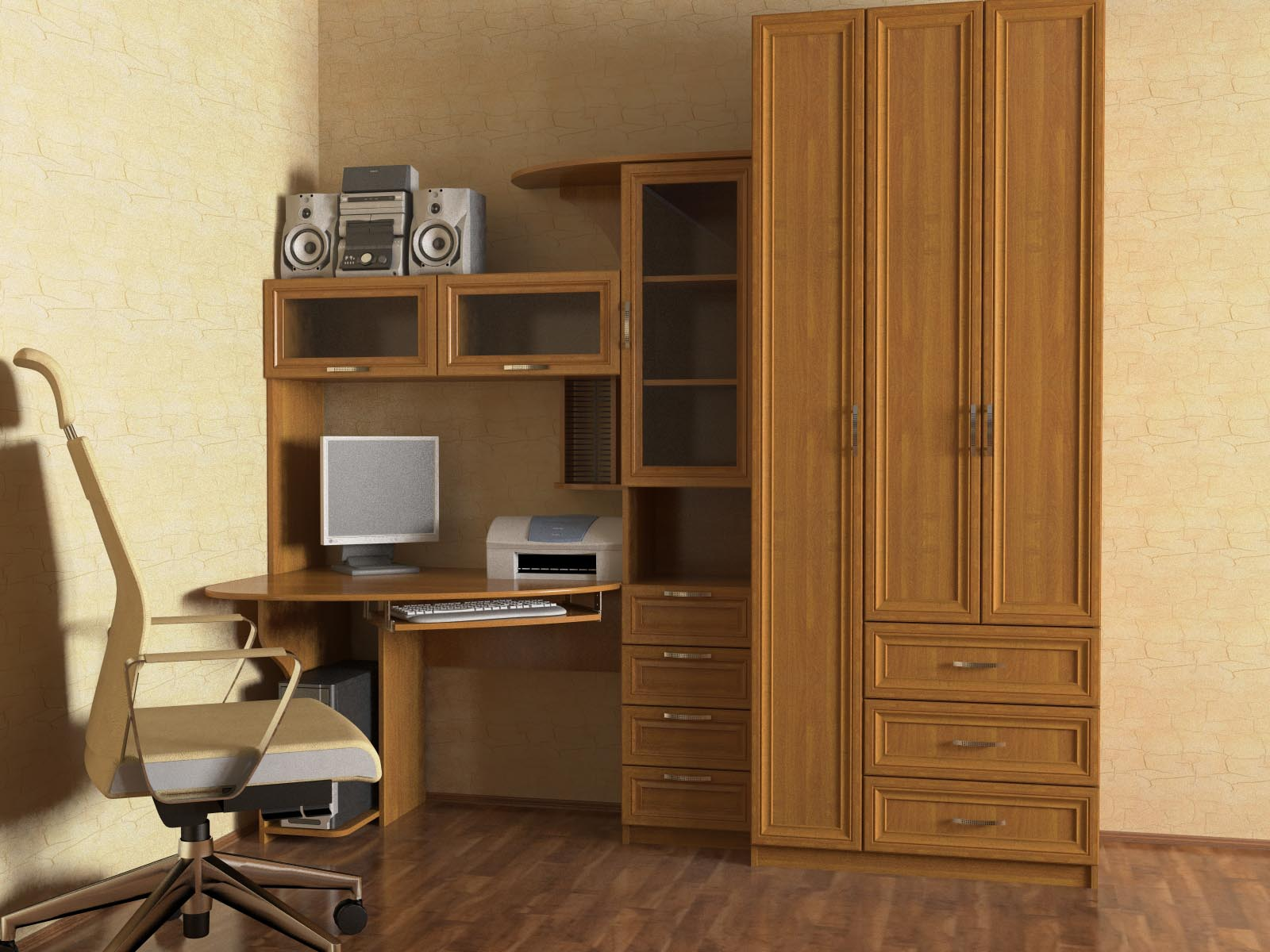 Стол компьютерный ст-4 купить в интернет-магазине тд промебе.